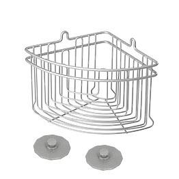 Полка угловая Metaltex 402710 для ванной фото, цена 837 грн