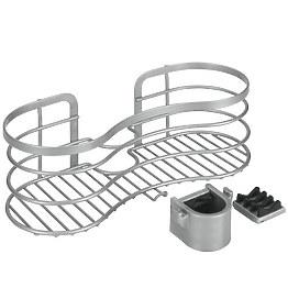 Полка для ванной и душа Metaltex 404818 фото, цена 711 грн