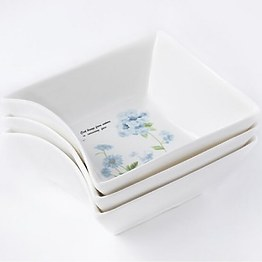 Фарфоровый набор из 3-х пиалок MR-10035-49 фото, цена 99 грн