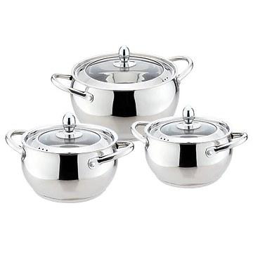 Набор посуды из 3 кастрюль Maestro MR-3509-6M