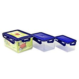 Набор пищевых контейнеров Алеана 167040 фото, цена 97 грн