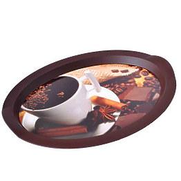 Поднос овальный Алеана 167055 47x35 см фото, цена 60 грн