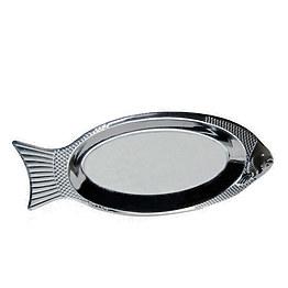 Блюдо из нержавеющей стали Kamille 4338 35 см фото, цена 43 грн