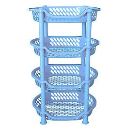 Пластиковая этажерка Efe Plastics Люкс фото, цена 120 грн
