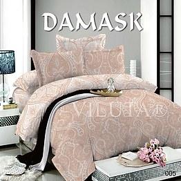 Комплект постельного белья поплин Дамаск 005 Вилюта фото, цена 423 грн