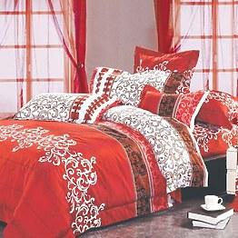 Постельное белье Вилюта ранфорс 8630 красный фото, цена 445 грн