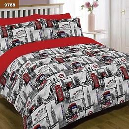 Комплект постельного белья Вилюта 9788 из ранфорса фото, цена 445 грн