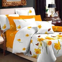 Нарцисс постельное белье Вилюта ранфорс комплект фото, цена 445 грн