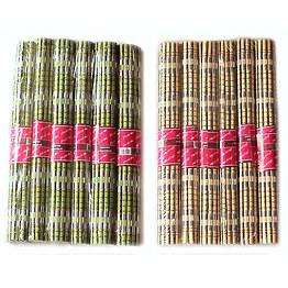 Бамбуковые подставки под горячее 6 пр Kamille 1041 фото, цена 175 грн