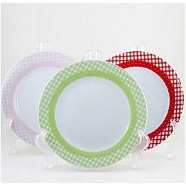 Набор фарфоровых тарелок 6 пр Maestro MR-10009-04 фото, цена 360 грн