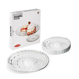 Набор тарелок 19 см Atlantis 10234 Pasabahce 6 шт фото, цена 87 грн