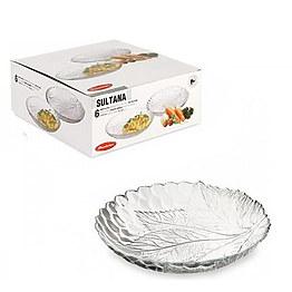 Набор из 6 тарелок Sultana 10285 Pasabahce 21 см фото, цена 166 грн