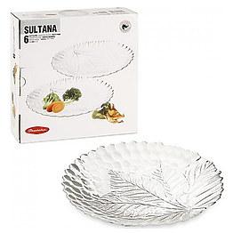 Набор тарелок 24 см Sultana 10288 Pasabahce фото, цена 120 грн