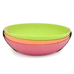 Набор из 3 тарелок Fissman 7158 20 см фото, цена 469 грн